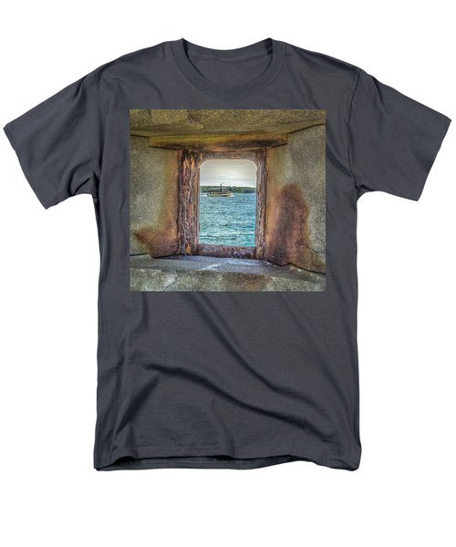 Men's T-Shirt  (Regular Fit) featuring the photograph View From The Fort by Jane Luxton
