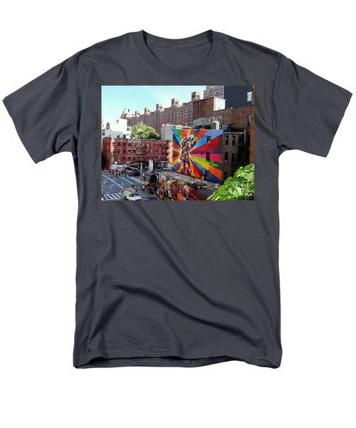 View From The Highline Men's T-Shirt  (Regular Fit) by Ed Weidman