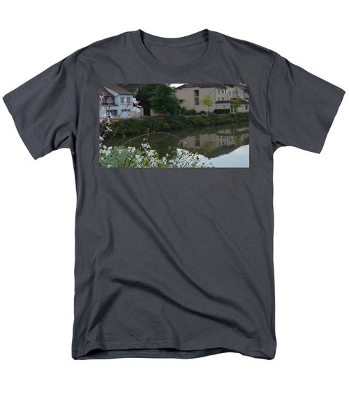 Village Life Men's T-Shirt  (Regular Fit) by Cheryl Miller