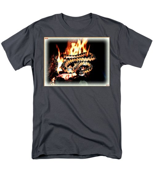 Men's T-Shirt  (Regular Fit) featuring the digital art Viper by Daniel Janda