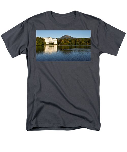 Men's T-Shirt  (Regular Fit) featuring the photograph Von Trapp's Mansion by Silvia Bruno