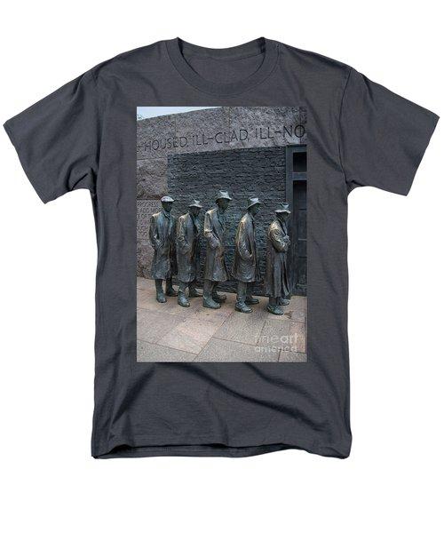 Waiting In Line Men's T-Shirt  (Regular Fit) by Carol Ailles