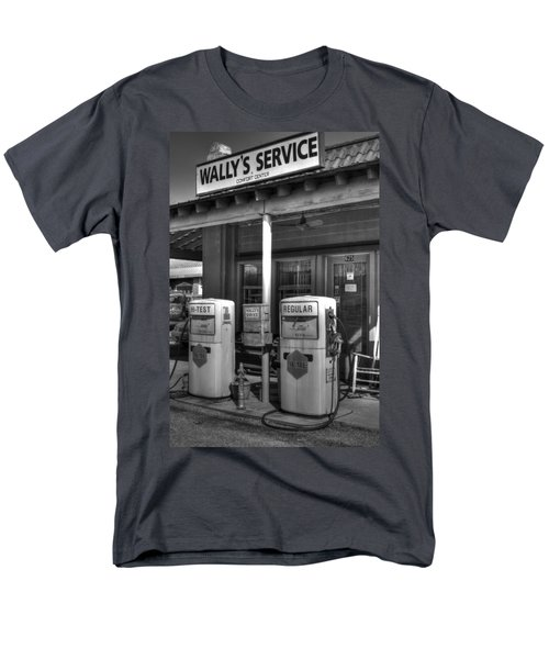 Wally's Service Station Men's T-Shirt  (Regular Fit) by Michael Eingle