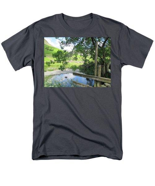 Wasdale Head Stile Men's T-Shirt  (Regular Fit) by Kathy Spall