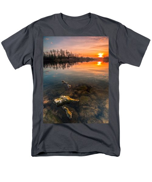 Watching Sunset Men's T-Shirt  (Regular Fit) by Davorin Mance