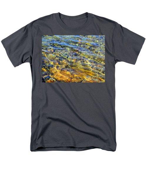 Water Abstract Men's T-Shirt  (Regular Fit) by Lynda Lehmann