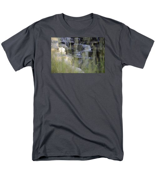 Men's T-Shirt  (Regular Fit) featuring the photograph Water Is Life 1 by Teo SITCHET-KANDA