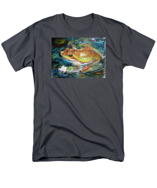 Waterlily And Frog Men's T-Shirt  (Regular Fit)