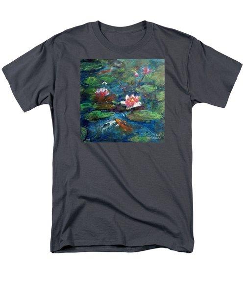 Waterlily In Water Men's T-Shirt  (Regular Fit)