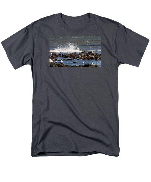 Waves Wind And Whitecaps Men's T-Shirt  (Regular Fit) by John Telfer