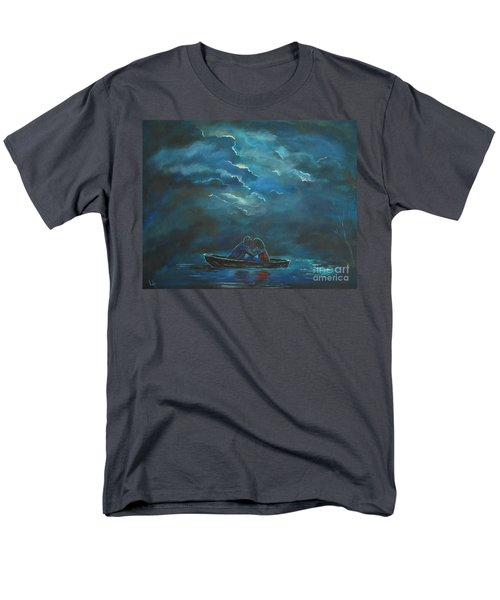 Weathering The Storm Men's T-Shirt  (Regular Fit) by Leslie Allen