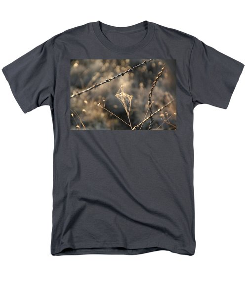 Men's T-Shirt  (Regular Fit) featuring the photograph web by David S Reynolds