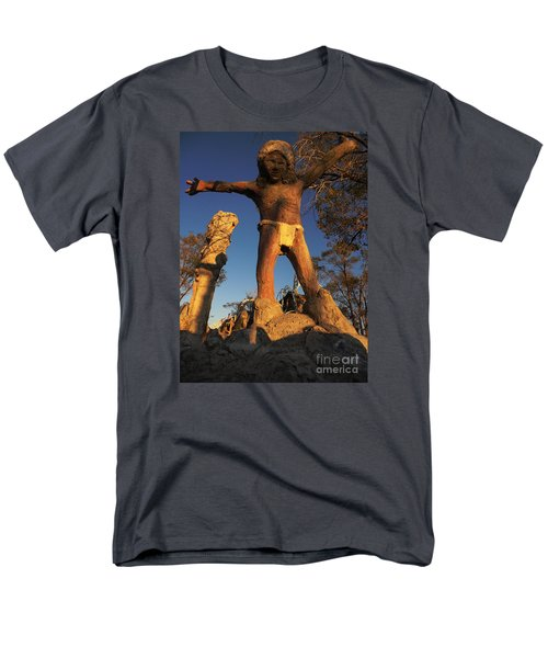 Men's T-Shirt  (Regular Fit) featuring the photograph Welcome by Janice Westerberg