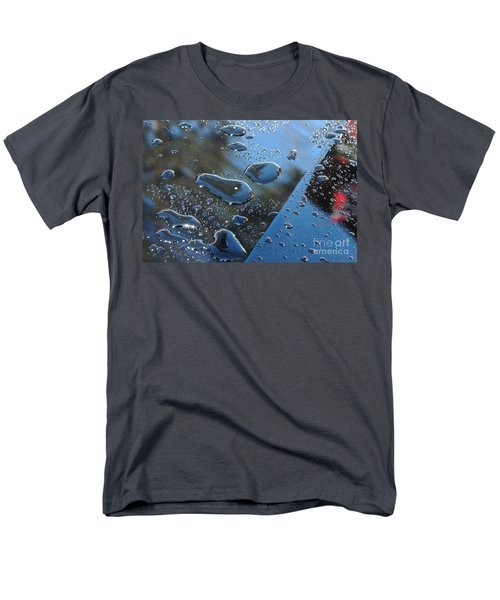 Men's T-Shirt  (Regular Fit) featuring the photograph Wet Car by Randi Grace Nilsberg