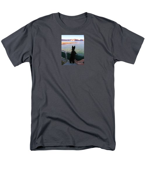 What A View Men's T-Shirt  (Regular Fit) by Michele Penner