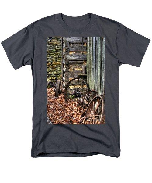 Wheels Of Time Men's T-Shirt  (Regular Fit) by Benanne Stiens