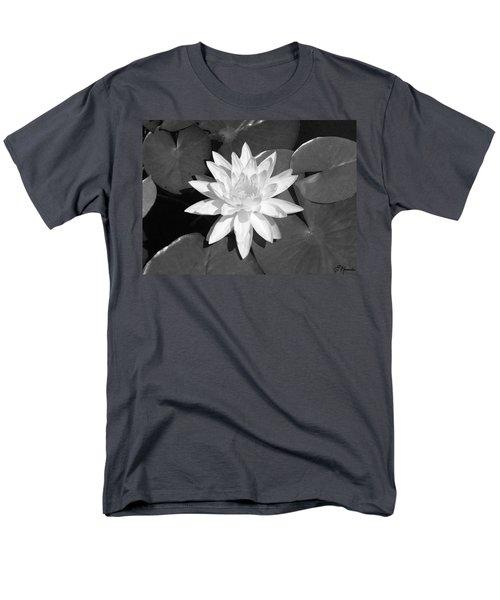 White Lotus 2 Men's T-Shirt  (Regular Fit)