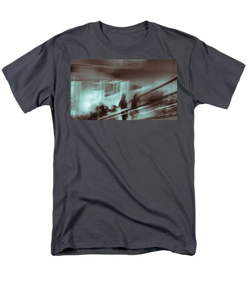 Men's T-Shirt  (Regular Fit) featuring the photograph Why Walk When You Can Ride by Alex Lapidus