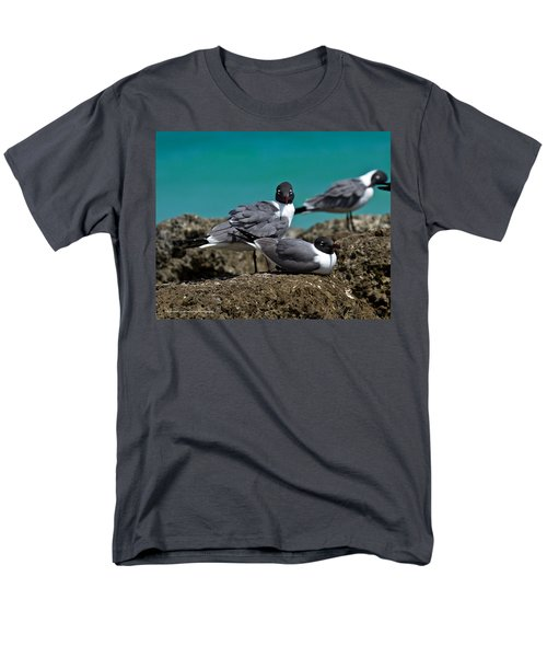 Men's T-Shirt  (Regular Fit) featuring the photograph Why You Looking? by Robert L Jackson
