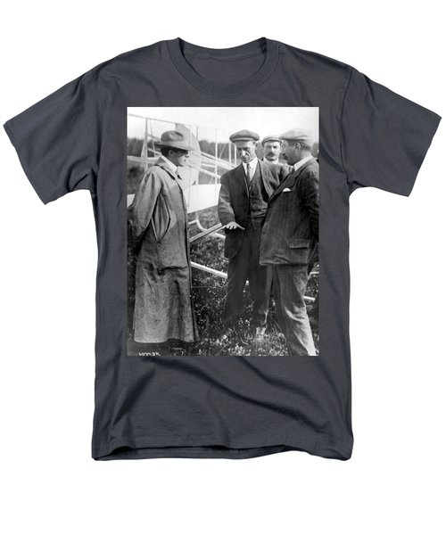 Men's T-Shirt  (Regular Fit) featuring the photograph Wilbur Wright, 1908 by Science Source