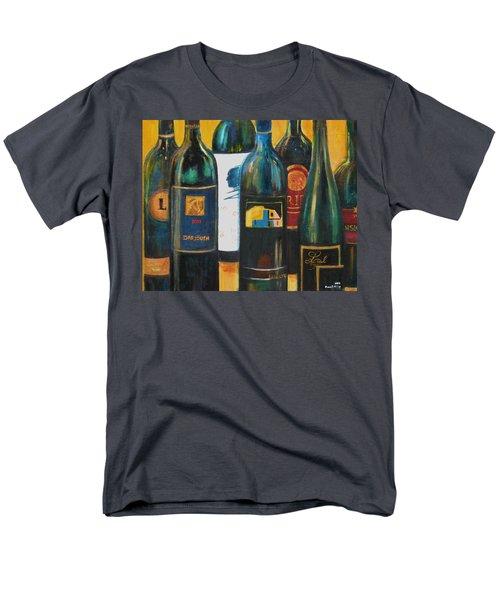 Wine Bar Men's T-Shirt  (Regular Fit) by Sheri  Chakamian