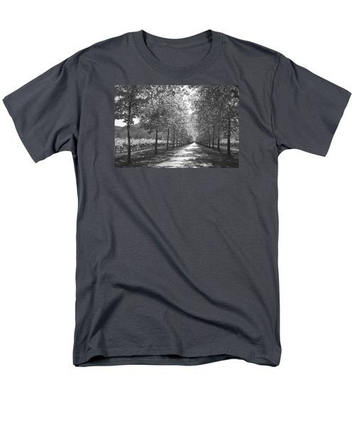 Wine Country Napa Black And White Men's T-Shirt  (Regular Fit) by Suzanne Gaff