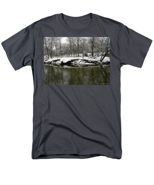 Winter Forest Series 2 Men's T-Shirt  (Regular Fit) by Verana Stark