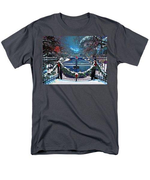 Winter Garden Men's T-Shirt  (Regular Fit) by Michael Rucker