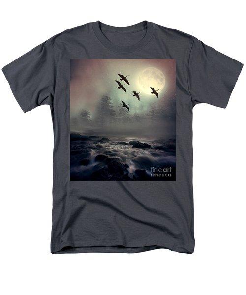 Winter Golden Hour Men's T-Shirt  (Regular Fit) by Andrea Kollo