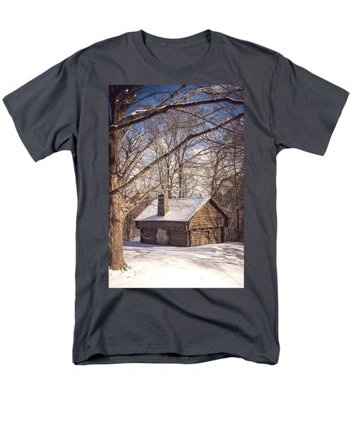 Winter Retreat Men's T-Shirt  (Regular Fit)