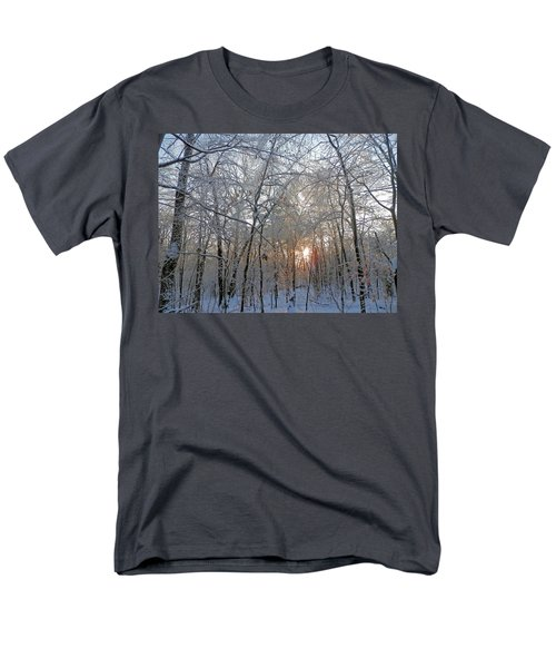 Winter Sunset Men's T-Shirt  (Regular Fit) by Pema Hou