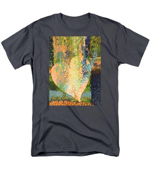 Winter To Spring Men's T-Shirt  (Regular Fit) by Lynda Hoffman-Snodgrass