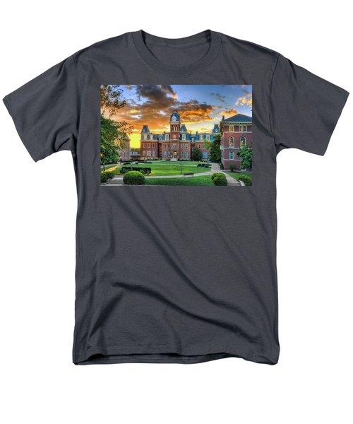 Woodburn Hall Evening Sunset Men's T-Shirt  (Regular Fit) by Dan Friend