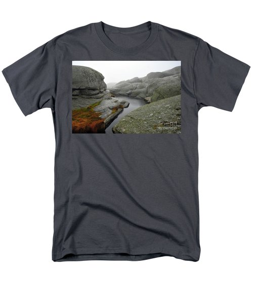 Men's T-Shirt  (Regular Fit) featuring the photograph World's End 1 by Randi Grace Nilsberg