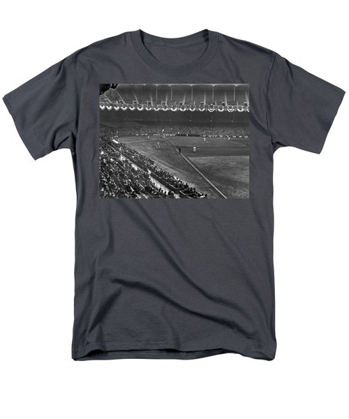 Yankee Stadium Game Men's T-Shirt  (Regular Fit) by Underwood Archives