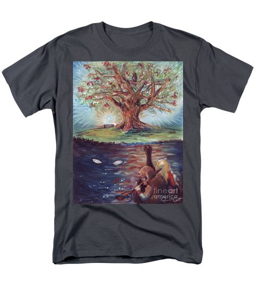 Yggdrasil - The Last Refuge Men's T-Shirt  (Regular Fit) by Samantha Geernaert