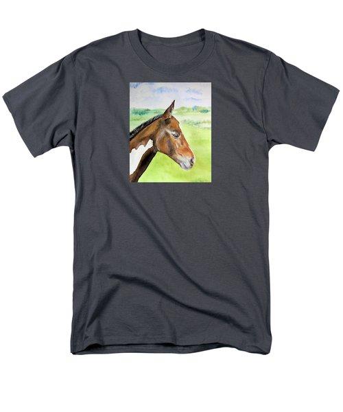 Young Cob Men's T-Shirt  (Regular Fit) by Elizabeth Lock