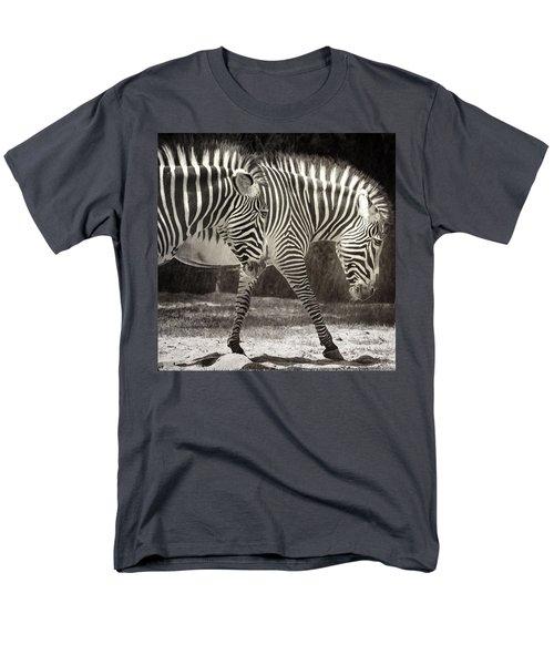 Zebra Men's T-Shirt  (Regular Fit) by Diane Dugas
