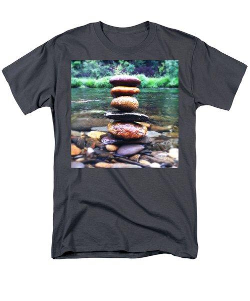 Zen Stones II Men's T-Shirt  (Regular Fit) by Marco Oliveira