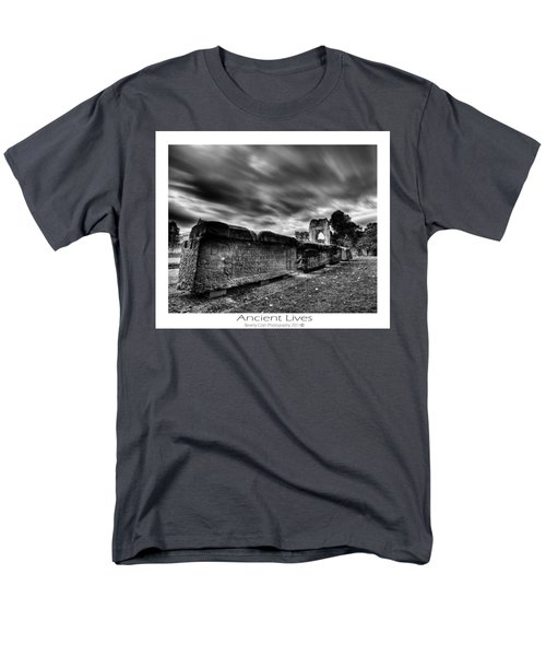 Men's T-Shirt  (Regular Fit) featuring the photograph  Ancient Lives by Beverly Cash