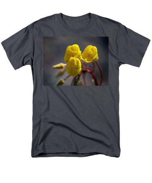 Desert Evening Primrose Men's T-Shirt  (Regular Fit) by Joe Schofield