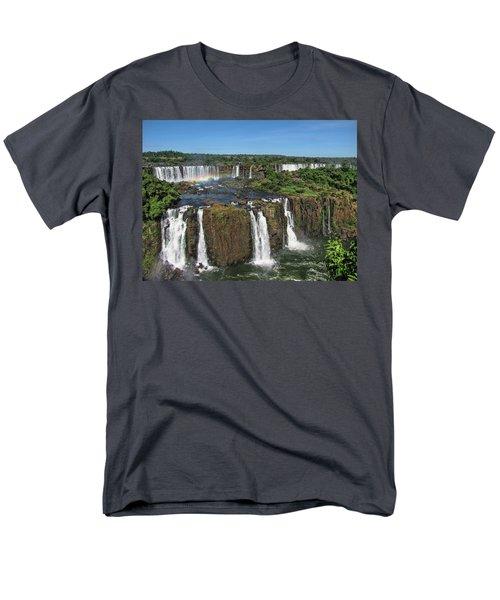 Iguazu Falls Men's T-Shirt  (Regular Fit) by David Gleeson