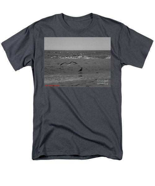 Navarre Beach Men's T-Shirt  (Regular Fit) by Janice Spivey