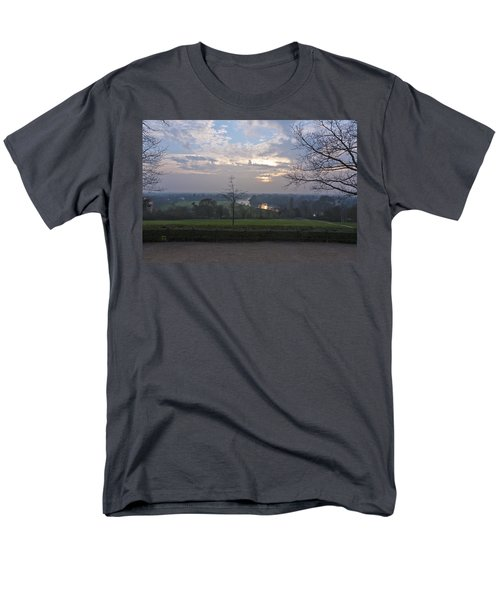 Men's T-Shirt  (Regular Fit) featuring the photograph Richmond Sunset by Maj Seda