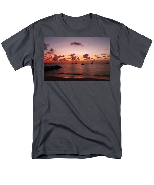 Men's T-Shirt  (Regular Fit) featuring the photograph Sunset by Catie Canetti