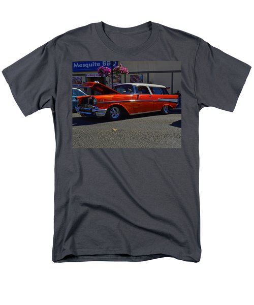 Men's T-Shirt  (Regular Fit) featuring the photograph 1957 Belair Wagon by Tikvah's Hope