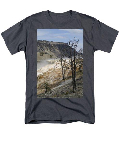 Yellowstone Nat'l Park Men's T-Shirt  (Regular Fit) by Henri Irizarri