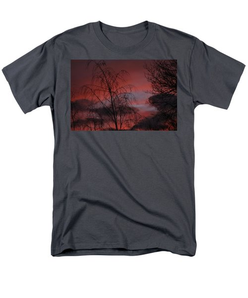 2011 Sunset 1 Men's T-Shirt  (Regular Fit) by Paul SEQUENCE Ferguson             sequence dot net