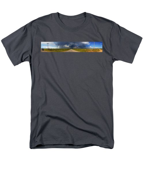 Men's T-Shirt  (Regular Fit) featuring the photograph 3x3 by Brian Duram