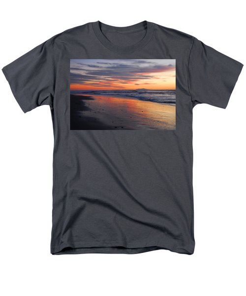 Men's T-Shirt  (Regular Fit) featuring the photograph A Passion For Purple by Lynn Bauer